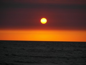 море, вечер, тишина...